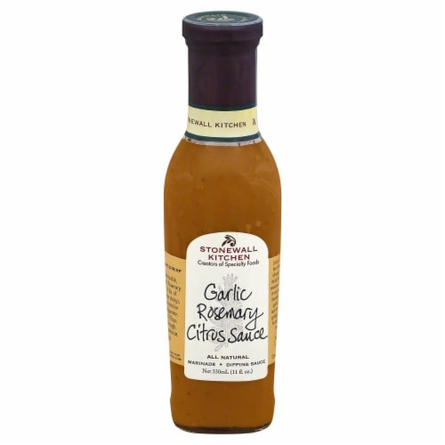 Stonewall Kitchen Garlic Rosemary Citrus Sauce Perspective: front