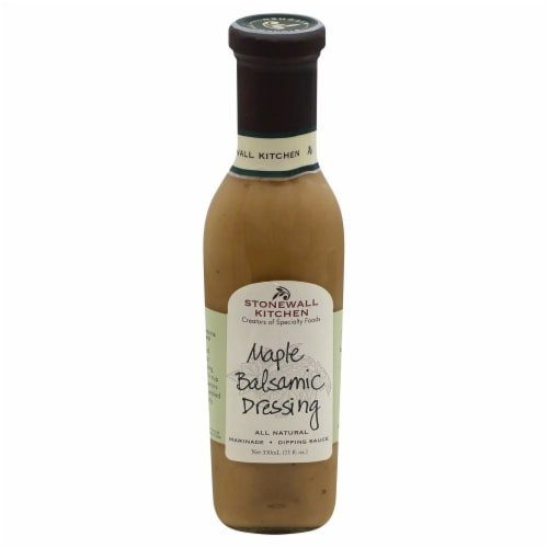 Stonewall Kitchen Maple Balsamic Dressing Perspective: front