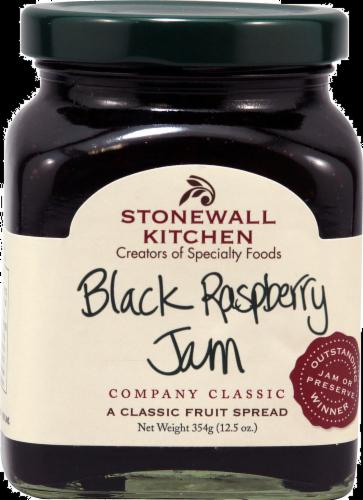 Stonewall Kitchen Black Raspberry Jam Perspective: front