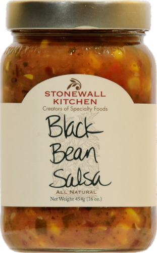 Stonewall Kitchen Black Bean Salsa Perspective: front