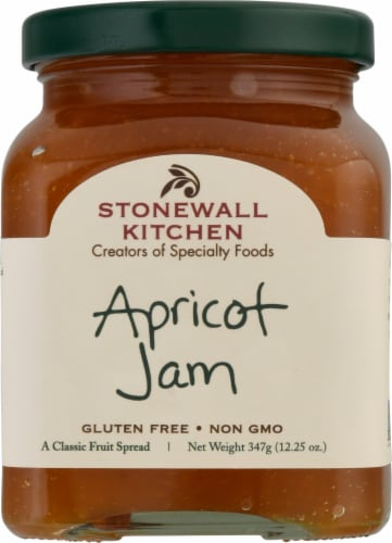 Stonewall Kitchen Apricot Jam Perspective: front