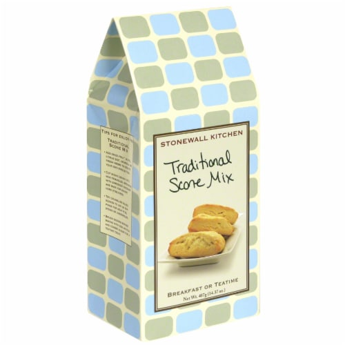 Stonewall Kitchen Traditional Scone Mix Perspective: front