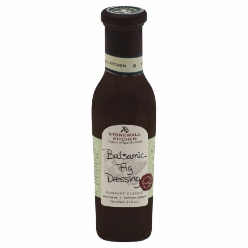 Stonewall Kitchen Balsamic Fig Dressing Perspective: front