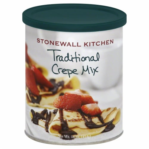 Stonewall Kitchen Traditional Crepe Mix Perspective: front