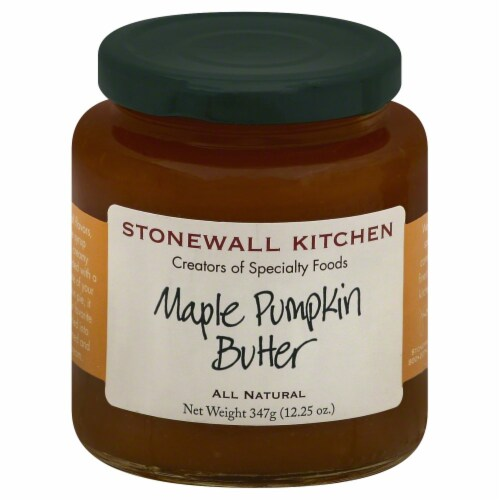 Stonewall Kitchen Maple Pumpkin Butter Perspective: front
