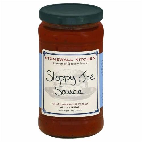 Stonewall Kitchen Sloppy Joe Sauce Perspective: front