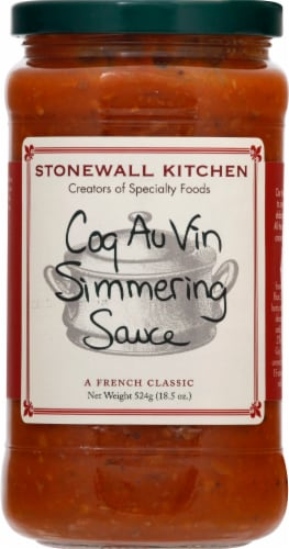 Stonewall Kitchen Coq Au Vin Simmering Sauce Perspective: front