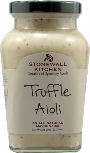 Stonewall Kitchen All Natural Truffle Aioli Perspective: front