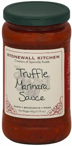 Stonewall Kitchen Truffle Marinara Sauce Perspective: front