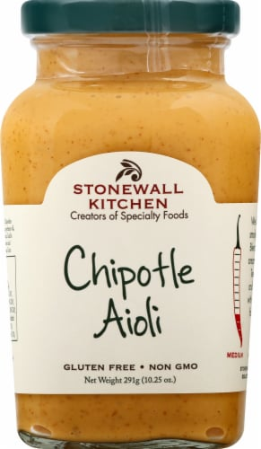 Stonewall Kitchen Chipotle Aioli Perspective: front