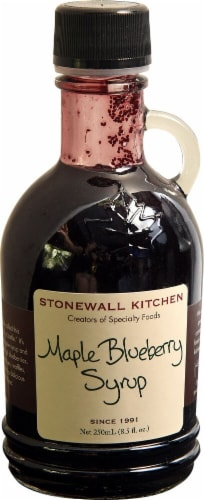 Stonewall Kitchen  Maple Blueberry Syrup Perspective: front