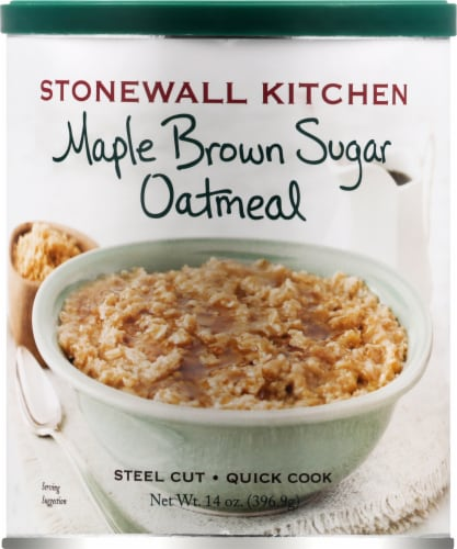 Stonewall Maple Brown Sugar Oatmeal Perspective: front