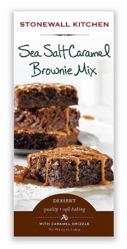 Stonewall Kitchen  Sea Salt Caramel Brownie Mix Perspective: front