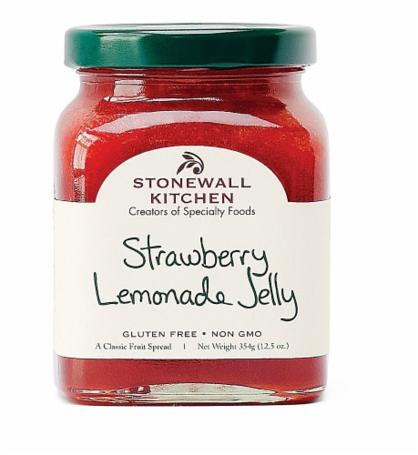 Stonewall Kitchen Strawberry Lemonade Jelly Perspective: front