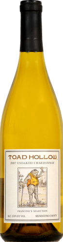 Toad Hollow Chardonnay Perspective: front