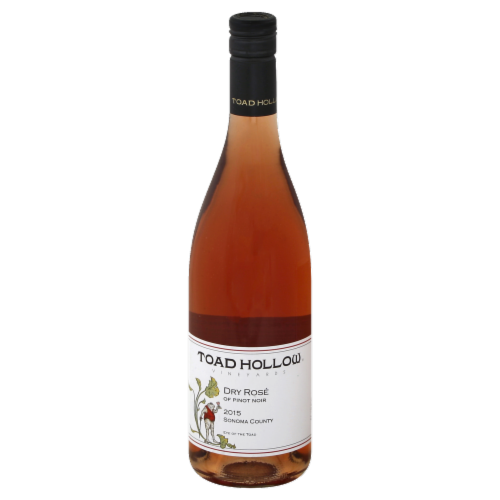 Toad Hollow Dry Rose Perspective: front