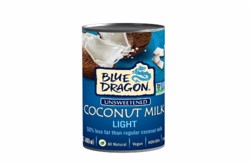 Blue Dragon Light Coconut Milk Perspective: front