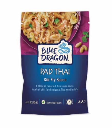 Blue Dragon Pad Thai Stir Fry Sauce Perspective: front