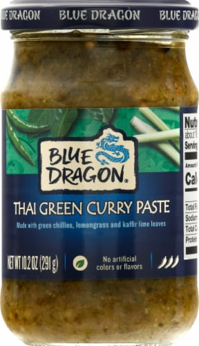 Blue Dragon Thai Green Curry Paste Perspective: front