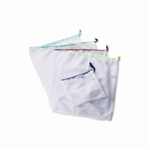 Natural Home 5-Piece Reusable Veggie Bags Perspective: front