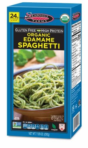Seapoint Farms Organic Edamame Spaghetti Perspective: front