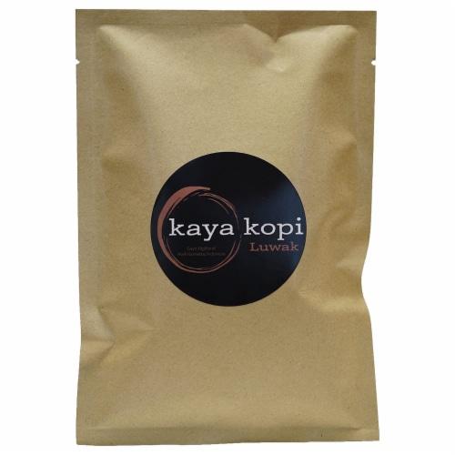 Premium Kaya Kopi Luwak From Indonesia Wild Palm Civets Arabica Coffee Beans (10 Grams) Perspective: front