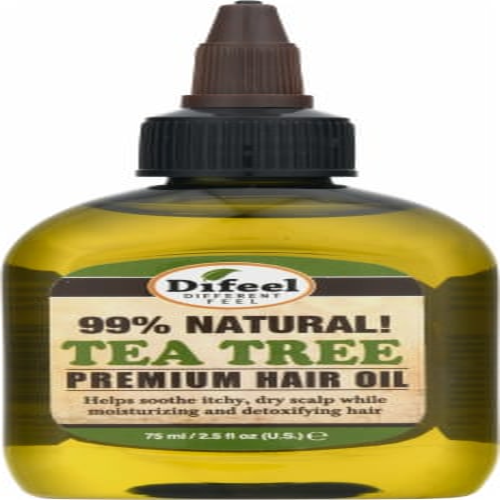 difeel Coconut Premium Hair Oil Perspective: front