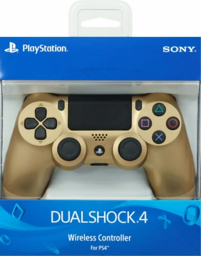 Sony Playstation4 DualShock4 Controller - Gold Perspective: front