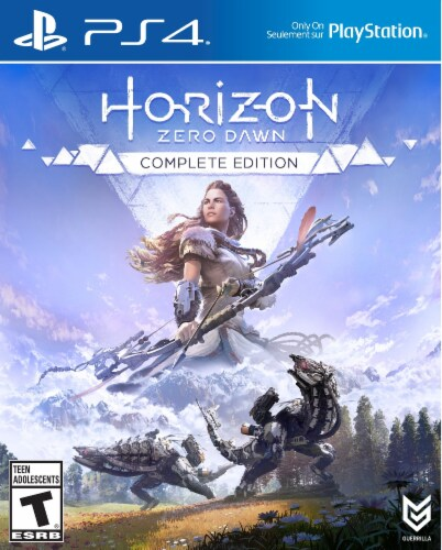 Horizon Zero Dawn Complete Edition (2020 - PlayStation 4) Perspective: front