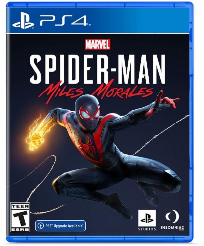 Marvel Spider-Man: Miles Morales (PS4) Perspective: front
