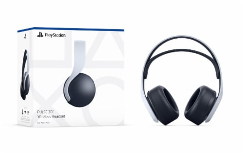 Sony PlayStation 5 Pulse 3D Wireless Headset Perspective: front