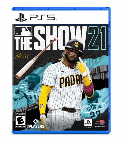 MLB 21 The Show Video Game (PlayStation 5) Perspective: front