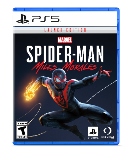 Spider-Man: Miles Morales Launch Edition (PlayStation 5) Perspective: front