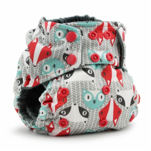 Kanga Care Rumparooz OBV One Size Pocket Cloth Diaper | Clyde (6-40lbs) Perspective: front