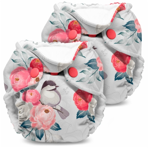 Kanga Care Lil Joey Cloth Diaper (2pk) Lily Perspective: front