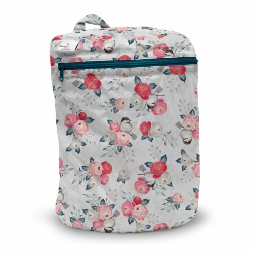 Kanga Care 3D Dimensional Seam Sealed Wet Bag - Lily Perspective: front