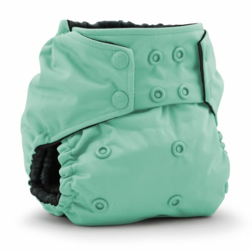 Kanga Care Rumparooz OBV One Size Pocket Cloth Diaper | Scuba (6-40lbs) Perspective: front