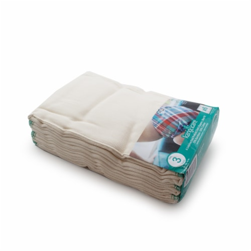 Kanga Care Bamboo Prefold Cloth Diapers (6pk) - Size 3 : Baby Perspective: front