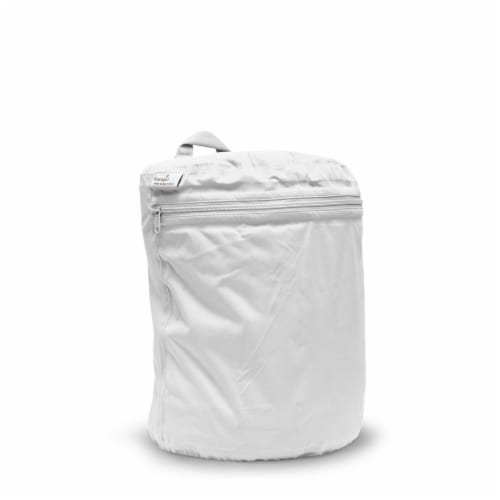 Kanga Care 3D Dimensional Seam Sealed Wet Bag Mini   Fluff Perspective: front