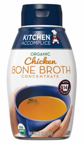 Kitchen Accomplice Organic Chicken Bone Broth Concentrate Perspective: front