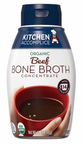 Kitchen Accomplice Organic Beef Bone Broth Concentrate Perspective: front