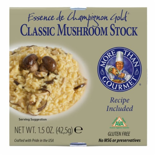 More Than Gourmet Classic Mushroom Stock Mushroom 6 Count Perspective: front