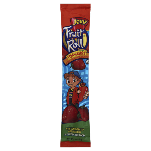 Jovy Strawberry Fruit Roll Perspective: front