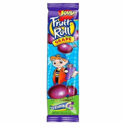 Jovy Grape Fruit Roll Perspective: front