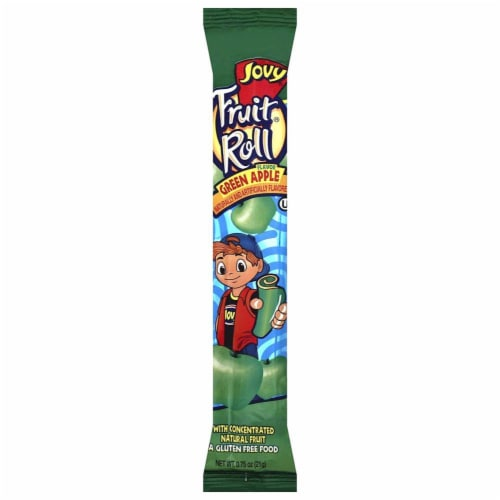 Jovy Green Apple Fruit Roll Perspective: front