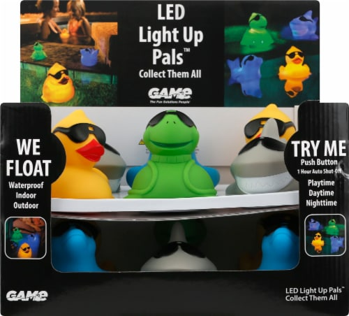 Game LED Light Up Pals Perspective: front