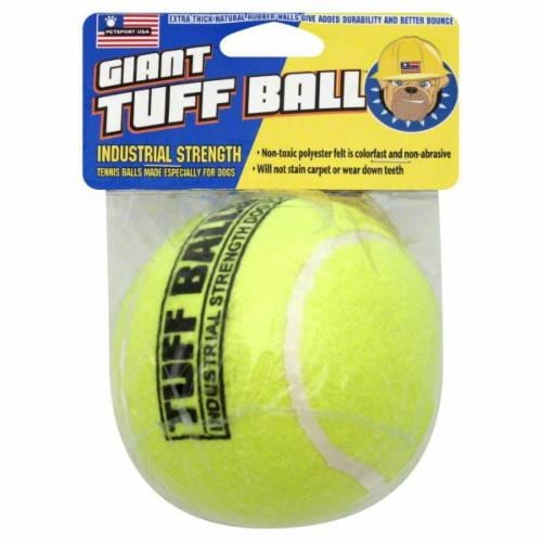 PetSport Giant Tuff Ball Dog Toy Perspective: front