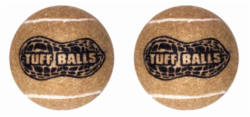 PetSport USA Tuff Peanut Butter Balls for Dogs Perspective: front