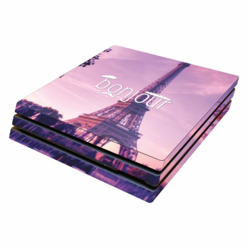 MightySkins SOPS4PRO-Bonjour Skin for Sony PS4 Pro Console - Bonjour Perspective: front