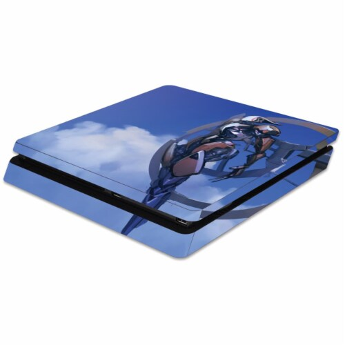 MightySkins SOPS4SL-Alpha Ring Skin for Sony PS4 Slim Console - Alpha Ring Perspective: front